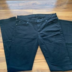 7 for all man kind straight leg jeans 32